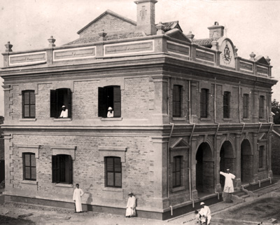 The construction of the mission house allowed the religious to have a central place of operations, to relax, for formation and meeting.